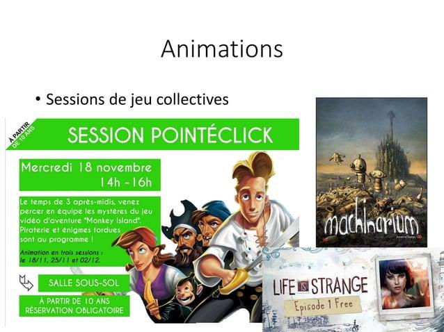 Animations • Liées à l'actualité culturelle Printemps des poètes, 14-18, Rolland-Garros, Fête de la nature, Halloween…