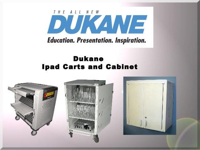 DukaneIpad Carts and Cabinet