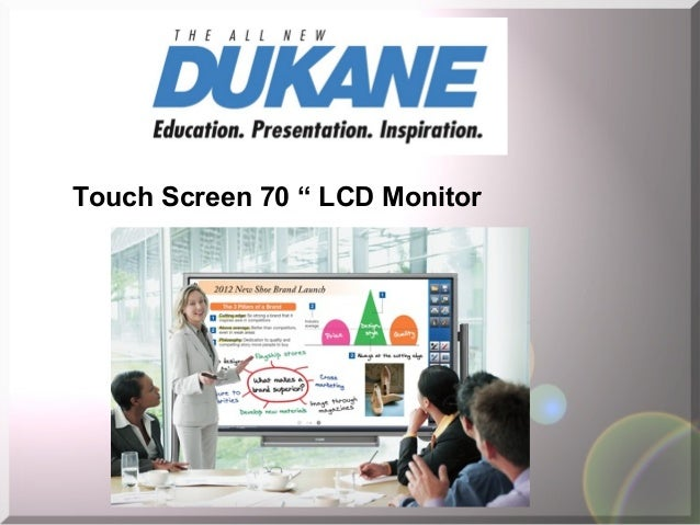 "Touch Screen 70 "" LCD Monitor"