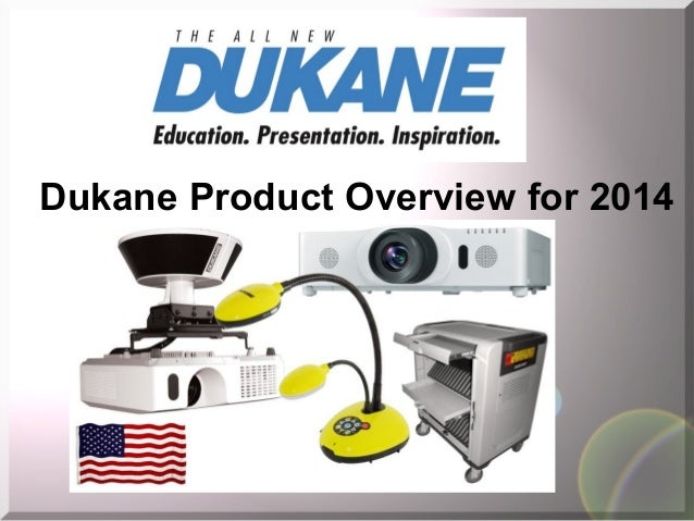 Dukane Product Overview for 2014