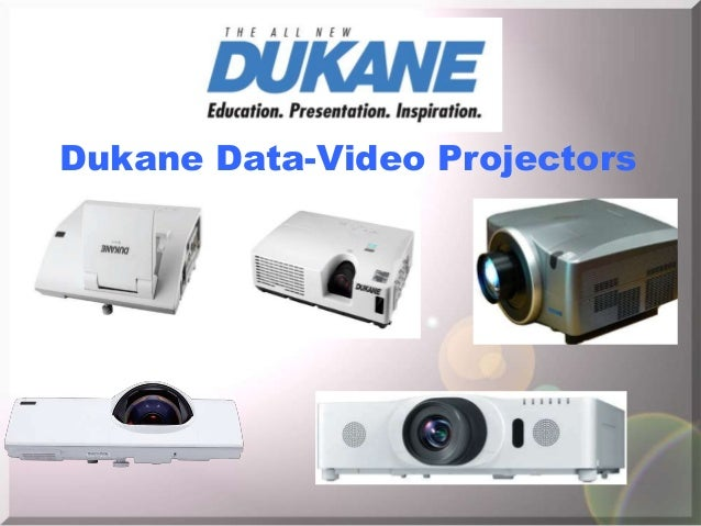 Dukane Data-Video Projectors