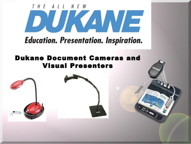 Dukane Document Cameras and Visual Presenters