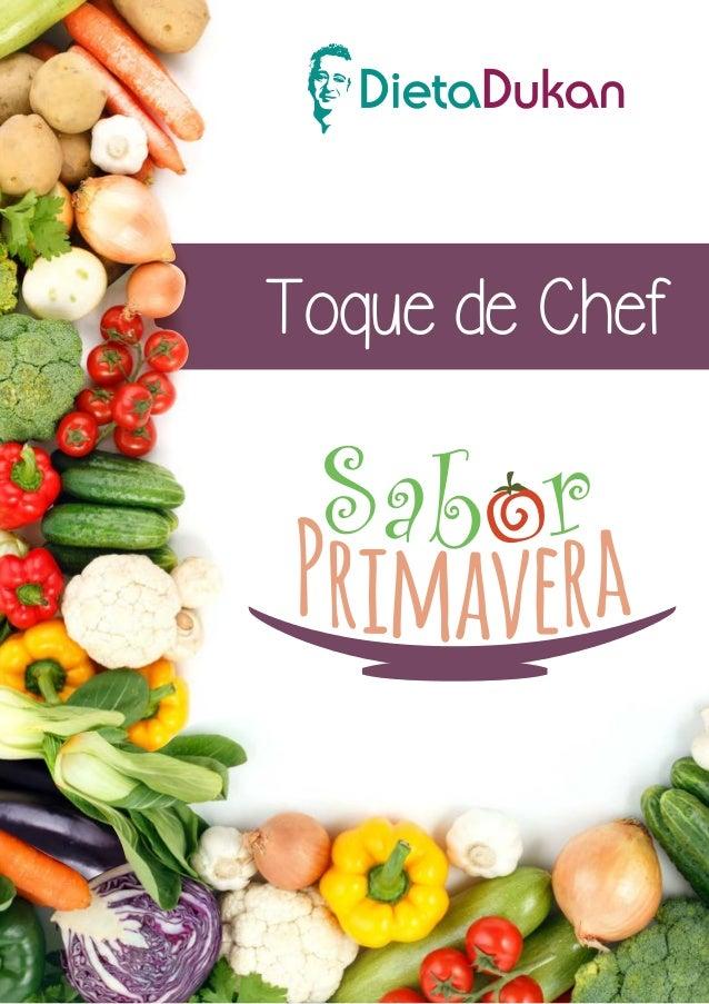 Dieta Dukan Receitas De Primavera Do Chef