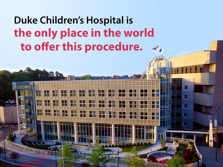 Duke Children's Hospital - Our Story