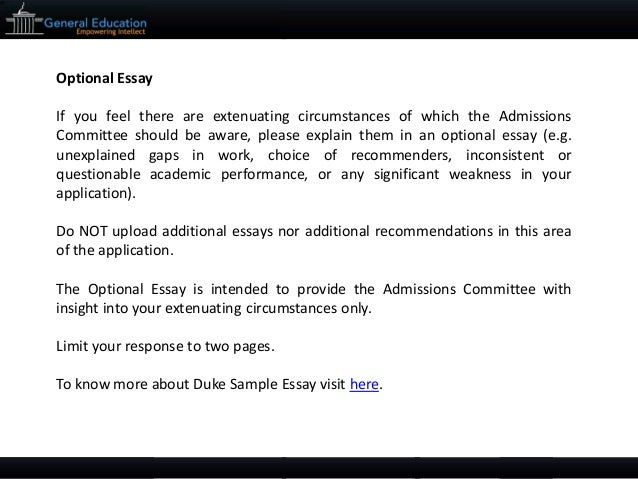 duke fuqua mba sample essays tips and deadlines 8 optionalessay ifyoufeelthereareextenuatingcircumstancesofwhichtheadmissionscommitteeshouldbeaware