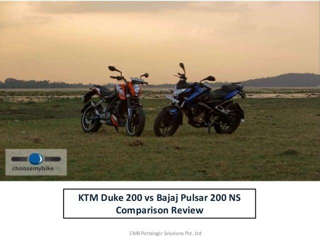 Compare Bajaj Pulsar 200NS vs KTM Duke 200