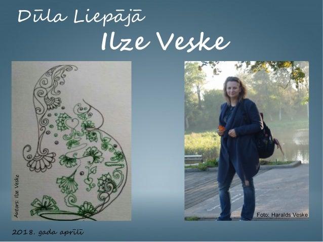 Dūla Liepājā Ilze Veske 2018. gada aprīlī Foto: Haralds Veske Autors:IlzeVeske