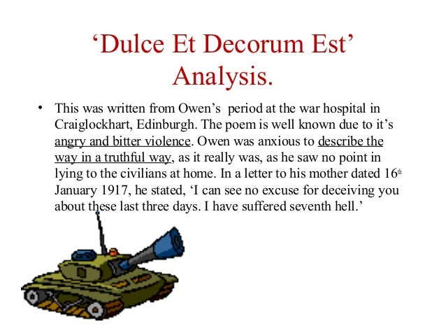 Dulce analysis