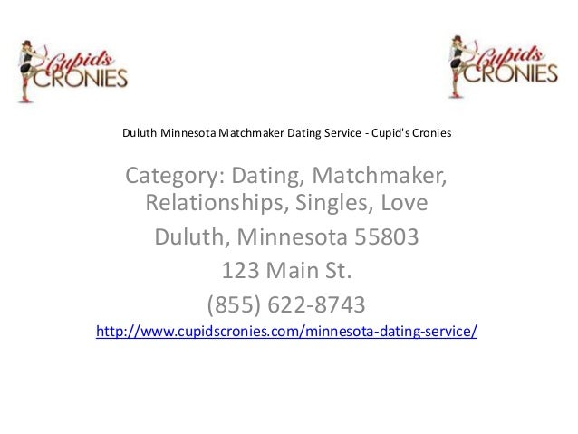 Cupids cronies matchmaker dating service