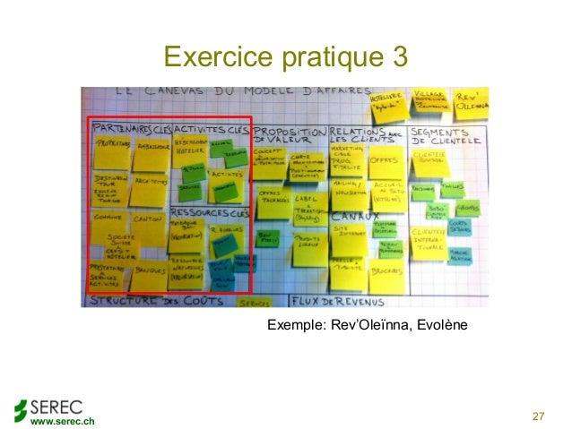www.serec.chExercice pratique 327Exemple: Rev'Oleïnna, Evolène