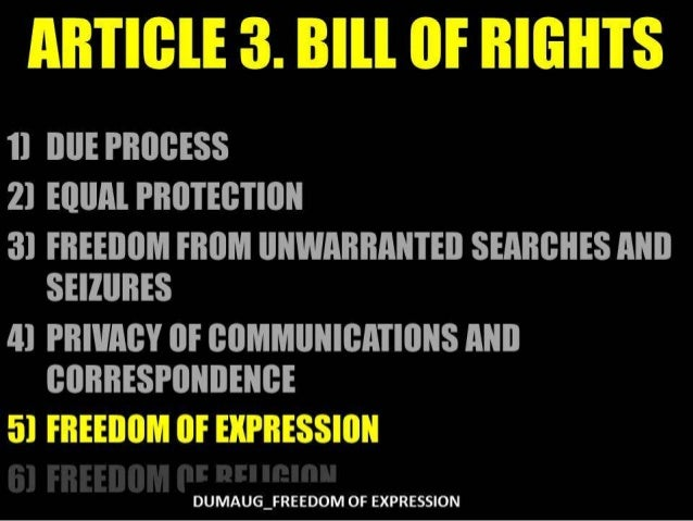 DUMAUG_FREEDOM OF EXPRESSION