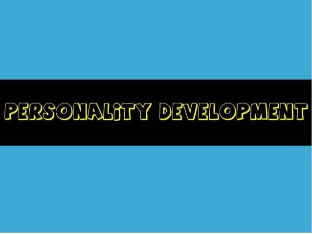 DUMAUG_PERSONALITY DEVELOPMENT