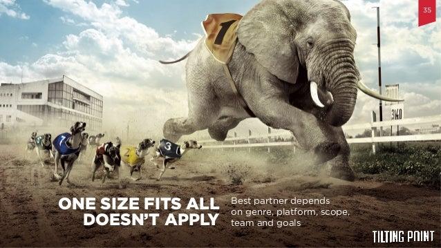 Til$ng  Point  Confiden$al   Best partner depends on genre, platform, scope, team and goals ONE SIZE FITS ALL DOESN'T...