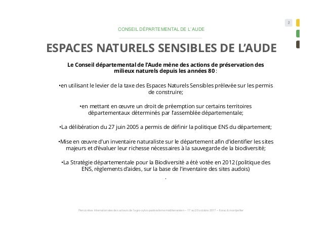Le pastoralisme et la gestion des espaces naturels Corbières audoises - DUMEUNIER  &  BOUTELOUP Slide 2