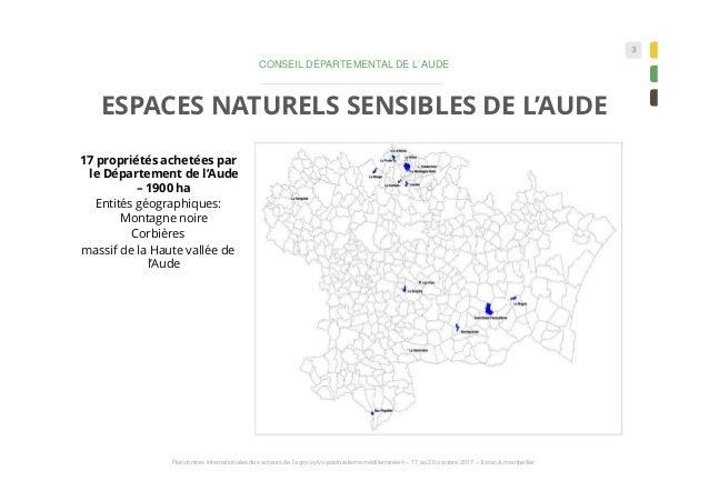 Le pastoralisme et la gestion des espaces naturels Corbières audoises - DUMEUNIER  &  BOUTELOUP Slide 3