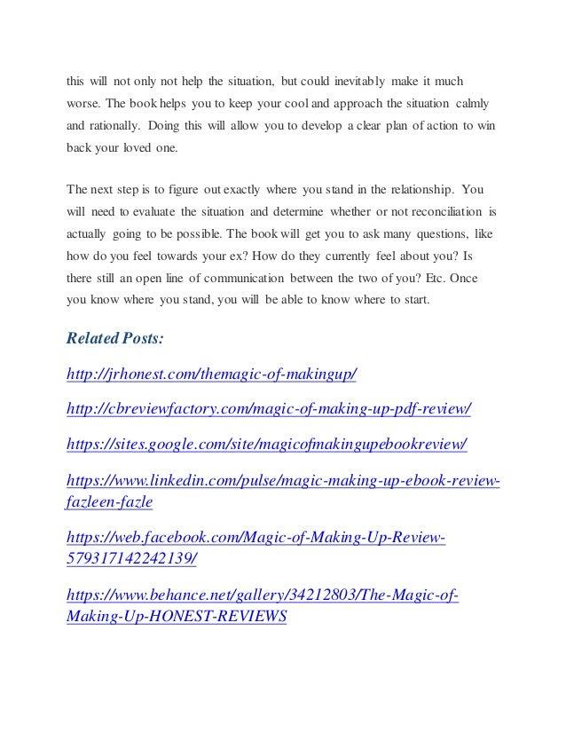 Up making the of pdf magic