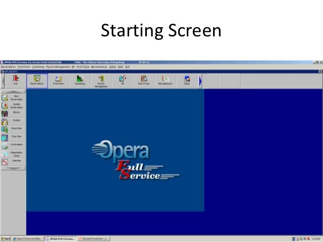 Starting Screen