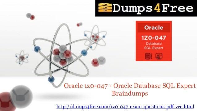 Oracle Database Sql Expert Pdf