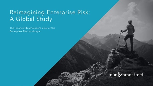 Reimagining Enterprise Risk: A Global Study The Finance Mountaineer's View of the Enterprise Risk Landscape
