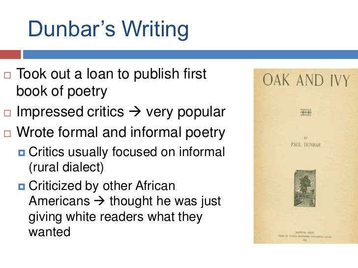 dunbar we wear the mask essay Essays on dunbar we have found 301 essays on dunbar we wear the mask by paul laurence dunbar 2 pages (500 words) nobody downloaded yetdunbar it proves to.