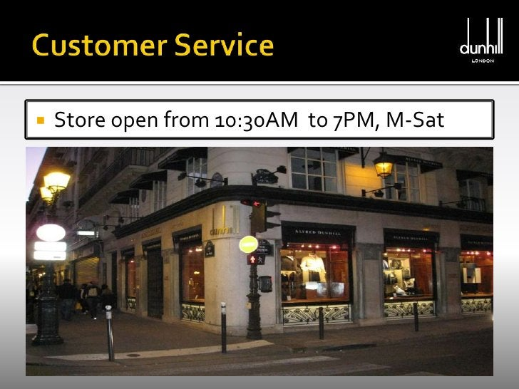 Customer Service <br />Store open from 10:30AM  to 7PM, M-Sat<br />