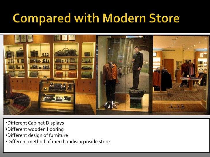 Original drawers</li></li></ul><li>Visual Merchandising <br />