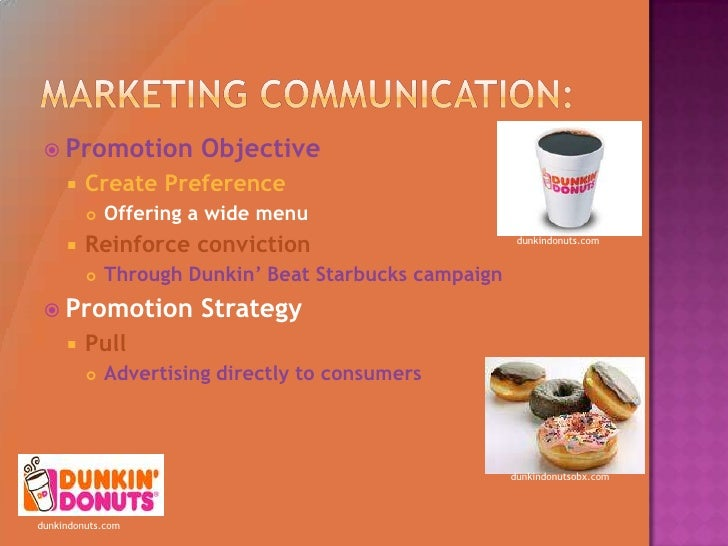 dunkin donuts marketing and advertising essay