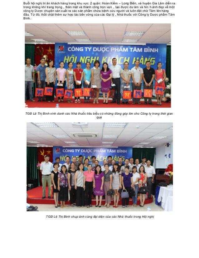 Buổi hội nghị tri ân khá ch hà ng trong khu vực 2 quận: Hoàn Kiếm – Long Biên, và huyện Gia Lâm diễn ra trong k...