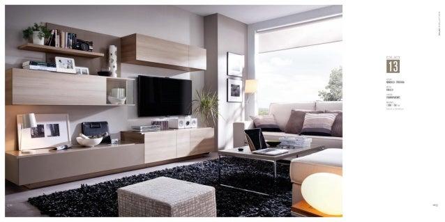 Muebles de salones modernos duo - Salones con comedor ...