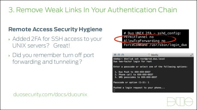 5 Signs You're Doing Authentication Wrong - Duo Security
