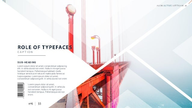 TYPOGRAPHIC HIERARCHY Typographic hierarchy organizing type that establishes an order of importance within the data, easil...