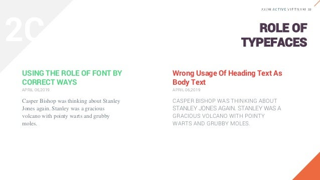 TYPOGRAPHIC HIERARCHY STEP 1 SELECT BASE SIZE Basically, base size is the font size of paragraph or the font size of body ...