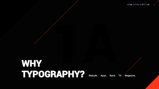 Effectively arrange it for legibility and readability. 1A P U R P O S E O F T Y P O G R A P H Y Communicate or convey your...