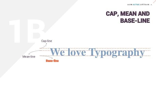 We love TypographyMean-line Base-line Descender Ascender ASCENDER & DESCENDER