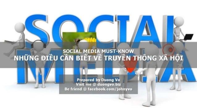 Social Media Must-Know