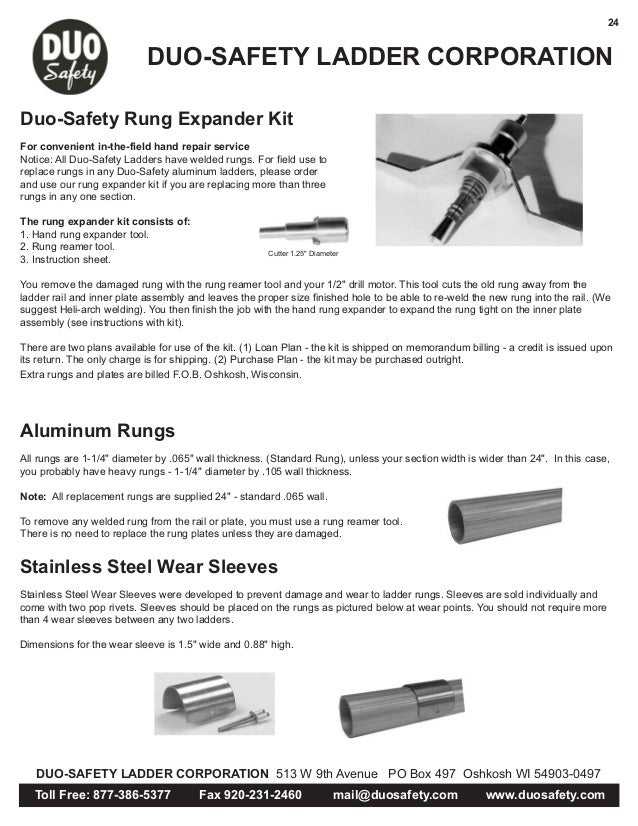 Duo Safety Catalog