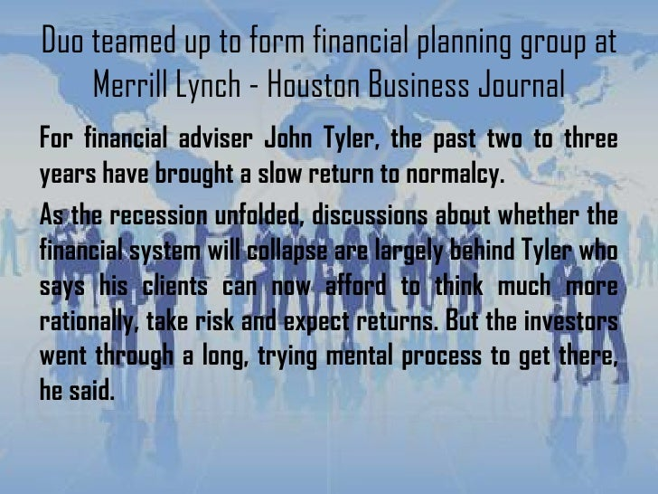 Merrill lynch business plan template grabs full pixels hd images duo teamed up to form financial planning group at merrill lynch hou 2 duo teamed up flashek Image collections