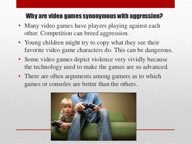 essays on video games causing violence Do you enjoy violent video games yes well you're probably a thug read the 10 reasons violent video games contribute to youth violence to find out why.