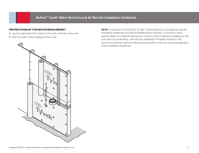tyvek house wrap installation guide
