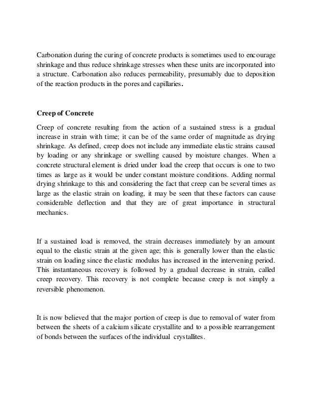 Durability of concrete - 웹