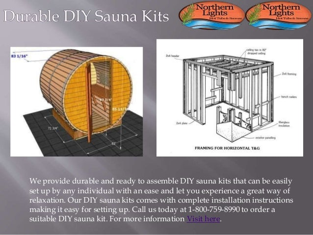 Durable Diy Sauna Kits