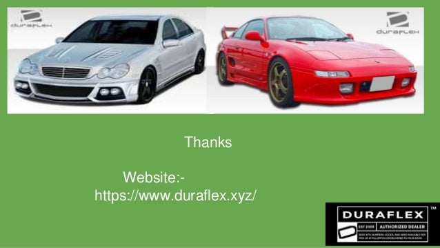 Extreme Duraflex Body Kits