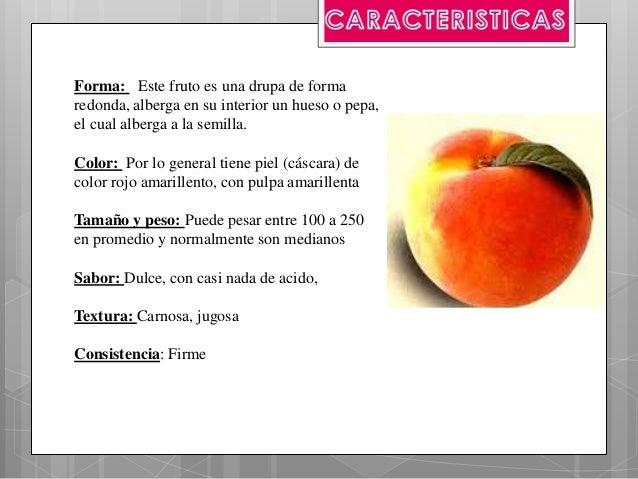 Materia durazno for Tipos de arboles y caracteristicas
