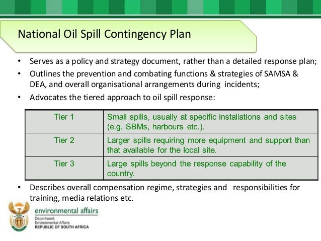 Environmental Affairs Forum - Current and future of oil spill respons…