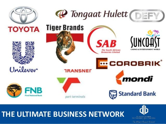 THE ULTIMATE BUSINESS NETWORK
