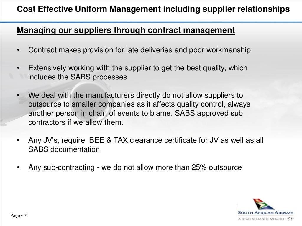Saa procurement processes for textiles industry xflitez Choice Image