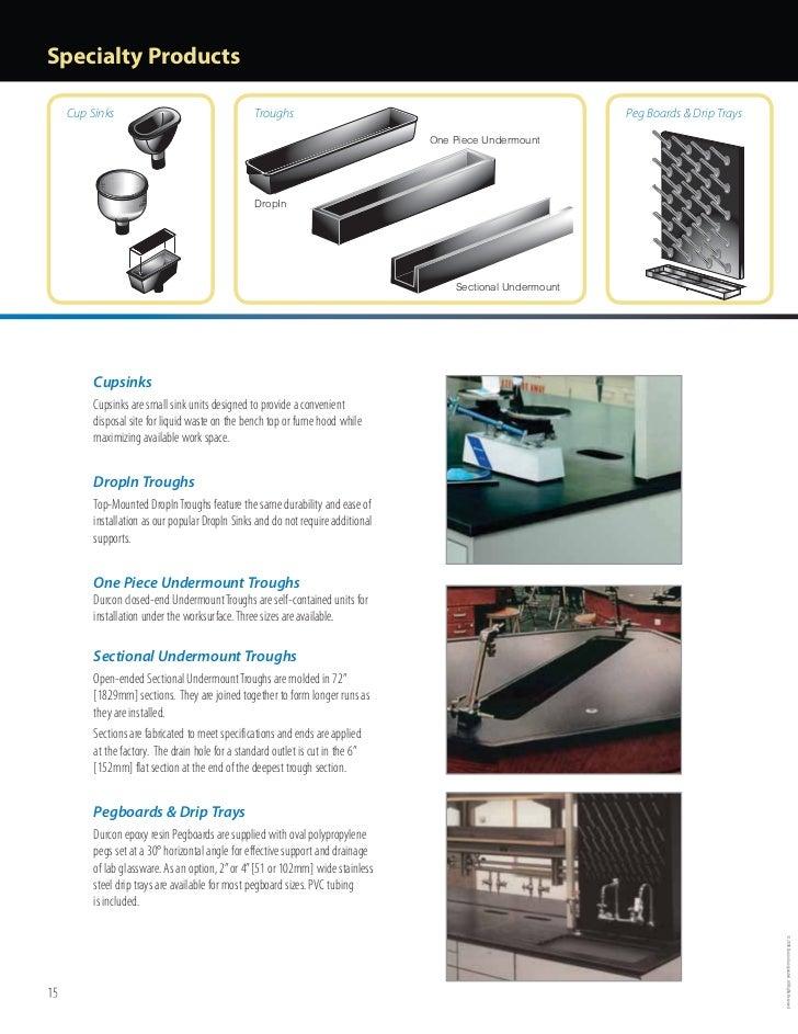 Durcon Laboratory Tops Catalog (2009)