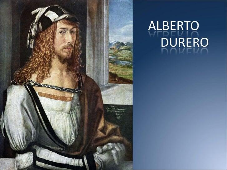 ALBERTO DURERO Slide 1