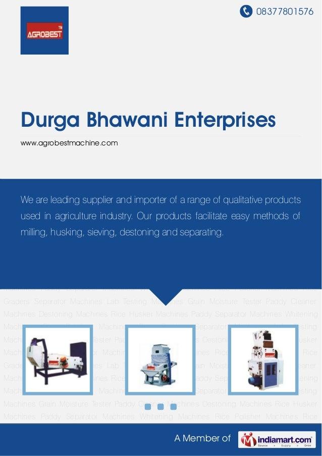 08377801576A Member ofDurga Bhawani Enterpriseswww.agrobestmachine.comPaddy Cleaner Machines Destoning Machines Rice Huske...