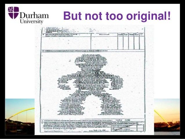durham substitute personalized statement